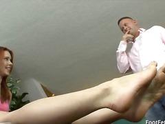 Porno: Fetish Me Këmbë, Thithje, Flokëkuqe, Fetish