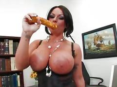 Porn: Միլֆ, Թրաշած, Աշխատանքի Վայրում, Հսկայական Պլորներ