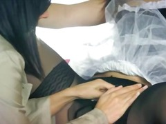פורנו: לבושות וערום, פנים, סינוור, עקבים