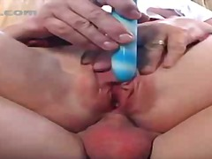 Porno: Dubbele Penetratie, Vagina, Vibrator, Zaadlozing