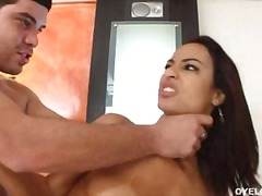Horny latina belinha baracho can not live out of to get that guyr mouth creamed after a nice team fuck