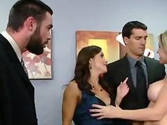 جنس: في المكتب, نيك جامد, جنس رباعى, بزاز