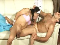 Porno: Prezervatīvs, Analā Atvere, Orgasms, Shemale