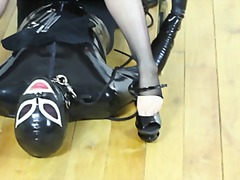 Most extreme foot fetish extreme, swallow your mistress feet