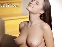 Porno: Solo, Onani, Tenåring, Brunette