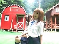 פורנו: יפניות, בית ספר, מתחת לחצאית