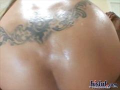 Porno: Stor Rund Rumpe, Raseblanding, Mus, Asiatisk