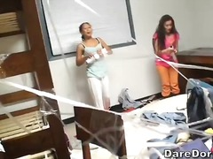 Porno: Col·legi Universitari, Sexe De Grup, Orgies, Trio