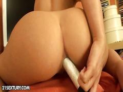 Porno: Blondínky, Roztiahnuté Otvory, Spodná Bielizeň, Lízanie Análu