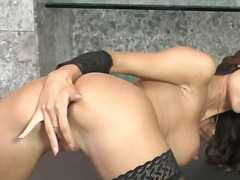 Smut roxanne milana doing herself