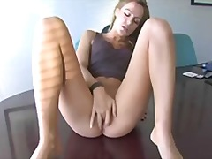Porno: Masturbari, Singure, Blonde, Webcam