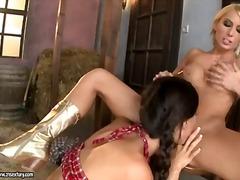 Porno: Fingring, Saftig, Barbert, Cunnilingus