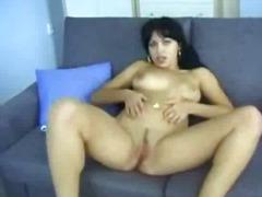 Porn: Amaterski Pornič, Rjavolaska, Drgnjenje, Pička