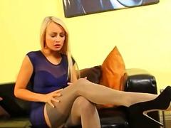 جنس: نايلون, نايلون, جوارب طويلة, شقراوات