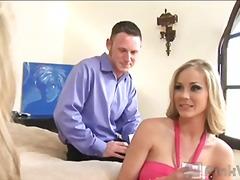 Lucah: Porno Hardcore, Rambut Blonde, Gadis, Berkumpulan