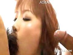 Porno: Aziatike, Me Lojëra, Dy Meshkuj Dhe Një Femër