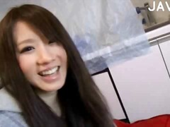 Porno: Japans, Zaadlozing, Amateur, Klaarkomen Op Het Gezicht