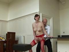 Porno: Britky, Zralý Ženský, Kuchyně