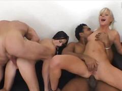 Porn: Ռասաների Միջև, Խումբ, Դեռահասներ, Չորսով