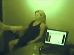 جنس: في المكتب, كاميرا مخفية, شقراوات, لعق