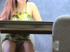 جنس: في المكتب, عرى, تجسس, كاميرا مخفية