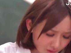 جنس: في المكتب, يابانيات, آسيوى, لعق