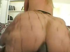ポルノ: 金髪, ポルノスター, アナル, 網タイツ