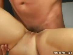 Porno: Gözəl Qız, Qırxılmış, Ağır Sikişmə
