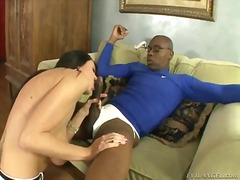 Hot interracial scene with a crazy bitch alia janine, jimmy broadway and sean michaels
