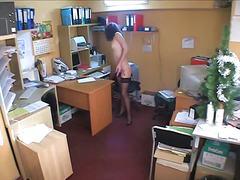 Porno: Kontoris, Brünetid, Piiluja, Spioon