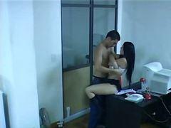 جنس: فموى, كاميرا مخفية, نيك قوى, في المكتب