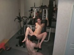 جنس: فموى, قاعة الرياضة, استراق النظر, تجسس