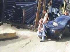 جنس: كاميرا مخفية, خارج المنزل, فموى, زوجان