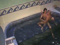 Porr: Spionerande, Pool, Voyeur, Dold