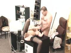 Porno: Ofis, Şef, Qıraqdan Güdən, Cəsus