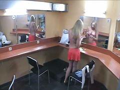 جنس: تجسس, كاميرا مخفية, شقراوات, عراه
