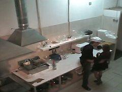 Porno: Podglądacze, W Kuchni, Dziewczyny, Ukryta Kamera