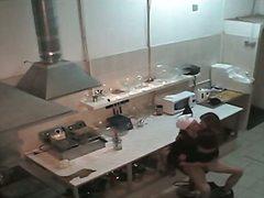 جنس: استراق النظر, في المطبخ, بنات, كاميرا مخفية
