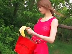 جنس: جوارب طويلة, خارج المنزل, مراهقات