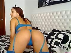 Pornići: Web Kamerica, Čipkaste Gaćice, Usamljeni, Masturbacija