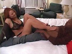 Porno: Madura, Polla, Negro, Interracial
