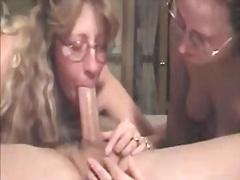 Porr: Dubbelpenetration, Långt Ner I Halsen