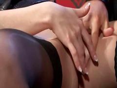 Порно: Високи Чорапи, Дилдо, Лезбејки, Хардкор
