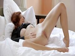 ポルノ: 赤毛, ティーン, オーガスム, 女性オナニー