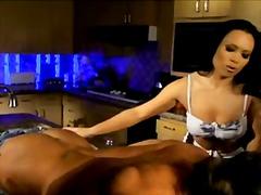 Porno: Tīņi, Rokas Masturbācija, Masāža, Virtuve