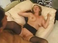 Porno: Strømper, Retro, Udendørs, Store Bryster