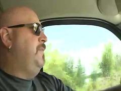פורנו: בחוץ, מכונית, ביסקסואל, הומואים