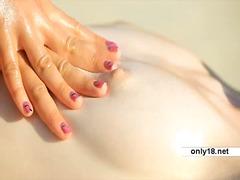Porno: Massage, Finger, Blond, Teen