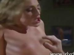 Porno: Boğaza Kimi, Gözəl Qız, Dərin Sikiş, Sarışın