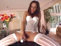 Porno: Fetišs, Meitenes, Garās Zeķes, Apakšveļa
